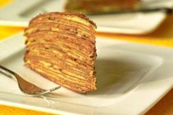 Изображение рецепта Торт блинный с орехами