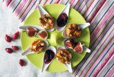Яблочно-сливовые маффины