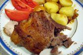 Свинина с картофелем запеченная в фольге