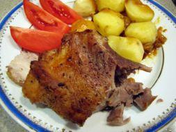 Изображение рецепта Свинина с картофелем запеченная в фольге