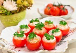 Изображение рецепта Фаршированные помидоры черри