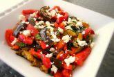 Салат с запеченными перцами