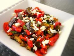 Изображение рецепта Салат с запеченными перцами