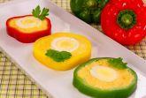 Фаршированный перец с сыром и яйцом
