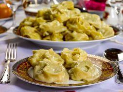 Изображение рецепта Манты с картофелем и фаршем