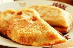 Изображение рецепта Жареные чебуреки с мясом