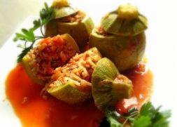 Изображение рецепта Фаршированные молодые кабачки