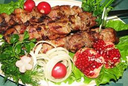 Изображение рецепта Шашлык из свинины в гранатовом соке