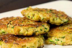 Изображение рецепта Вегетарианские оладьи из кабачков