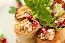 Изображение рецепта Баклажаны, фаршированные грецкими орехами