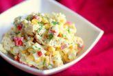 Изображение рецепта Простой салат с крабовыми палочками