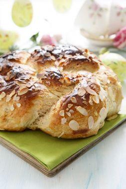 Изображение рецепта Сдобный хлеб с миндальными лепестками