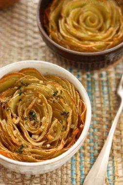 Изображение рецепта Запеченный картофель ''Лепестки''