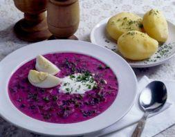 Изображение рецепта Окрошка со свеклой