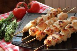 Изображение рецепта Шашлык из курицы в кефире