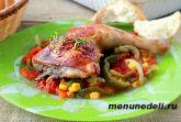 Курица по-мексикански в духовке