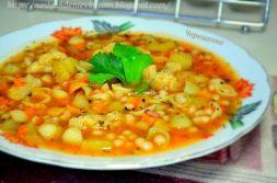 Изображение рецепта Минестроне с фасолью