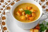 Суп-пюре из чечевицы с овощами