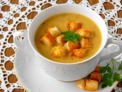 Изображение рецепта ''Суп-пюре из чечевицы с овощами''