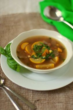 Изображение рецепта Летний суп из кабачков
