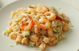 Изображение рецепта Рис с креветками и чесноком