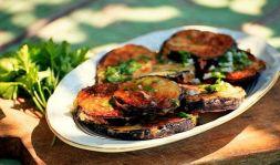 Изображение рецепта Баклажаны в соусе на зиму