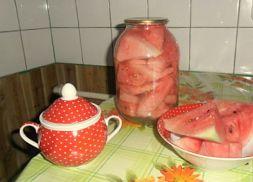 Изображение рецепта Соленый арбуз без корок