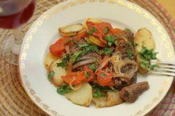 Изображение рецепта Телятина, запеченная с помидорами