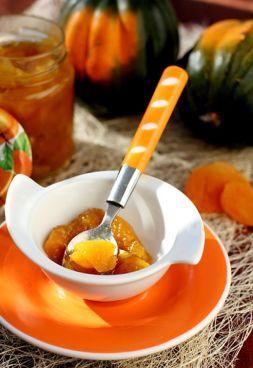 Изображение рецепта Варенье из тыквы с курагой и лимоном