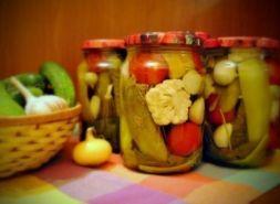 Изображение рецепта Овощное ассорти с яблочным уксусом