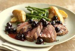 Изображение рецепта Черничный соус к мясу