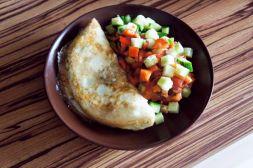 Изображение рецепта Белковый омлет с овсянкой