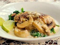 Изображение рецепта Рыба под грибным соусом