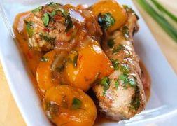 Изображение рецепта Индейка с абрикосами