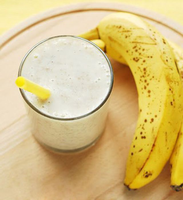 Молоко и бананы рецепт