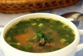 Суп из индейки и перловки в мультиварке