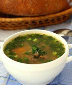 Изображение рецепта Суп из индейки и перловки в мультиварке