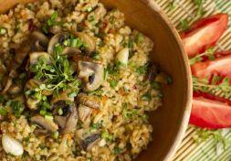 Изображение рецепта Булгур с грибами