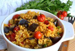 Изображение рецепта Плов с булгуром и овощами