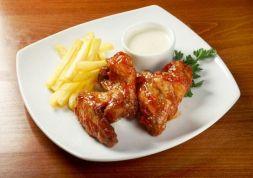 Изображение рецепта Жареные куриные крылышки