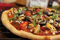 Изображение рецепта Пицца вегетарианская простая