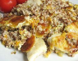 Изображение рецепта Запеканка с рыбой и гречкой