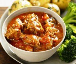 Изображение рецепта Тушеная рыба в томатном соусе