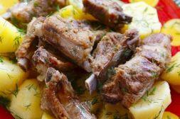 Изображение рецепта Бараньи рёбрышки в рукаве