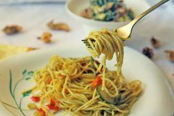 Изображение рецепта Спагетти с овощами