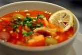 Рыбная солянка из скумбрии