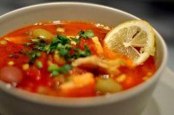 Изображение рецепта Рыбная солянка из скумбрии