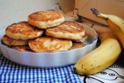 Изображение рецепта Сырники с бананом