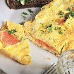 Изображение рецепта Омлет с лососем