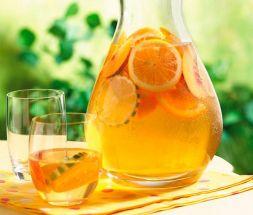 Изображение рецепта Компот из апельсинов и лимона
